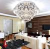 Modern Fashion Round K9 Crystal Ceiling Light Chandelier Living Room Lamp D400mm X H250mm