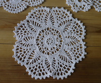 Wholesale - 100% cotton hand made crochet doily, lace cup ma...
