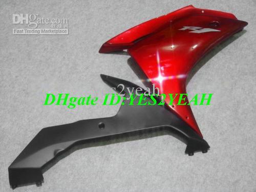 Kit de carénage de moto pour YAMAHA YZFR1 2007 2008 YZF R1 Carrosserie YZF-R1 YZF1000 R1 07 de carénages + cadeaux YW40