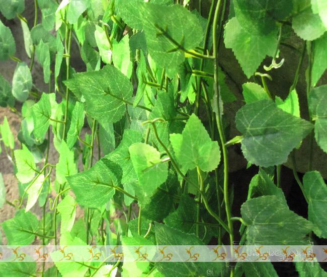 96m / partij fijne plastic grapevine nep zijden bloemen trompet wijnstok binnenplaats decor FZ12-4