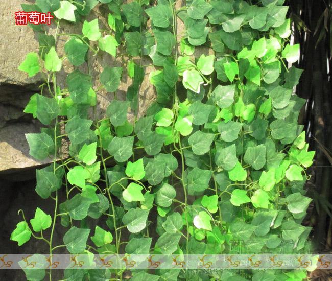 96 m / lote Fino Plástico Vinha Falsa Flores De Seda Trompete Videira Pátio Decoração FZ12-4