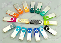 Pendrive 64GB stick giratorio USB popular Flash Drive estilo rotatorio de memoria con DHL Fedex