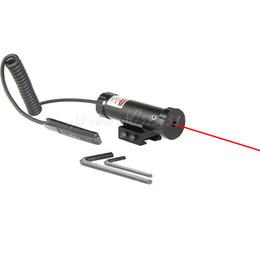 Tactical Caça Laser Scope Red Dot Sight 11mm / 20mm Trilho com Montagem 2 Interruptor para Gun Rifle em Promoção