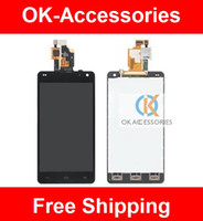 Wholesale Optimus G Digitizer - LCD+Touch Screen Digitizer For LG Optimus G E975 1PC  Lot