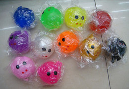 Wholesale Lovely Fruits - Hot Sale New all kinds of Splat Ball  Lovely animal fruit and Animal splat ball Free shipping