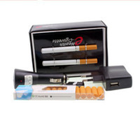 Wholesale E Health Cartridges - V9 Health double e-cigarette with 10 cartridge and 2 atomizer with retail package