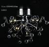 Modern Fashion Clear K9 Crystal Ceiling Light Chandelier Restaurant Lamp D560mm X H440mm