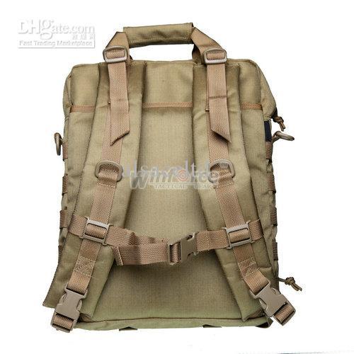 "WINFORCE TACTICAL GEAR / WS-22 ""Observer"" Laptop 14"" Vertical Bag /100% CORDURA / QUALITY GUARANTEED OUTDOOR SHOULDER BAG"