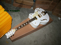 Wholesale Bigbys Jazz - Wholesale White Classic 6120 Falcon Jazz Guitar with Bigbys OEM Available
