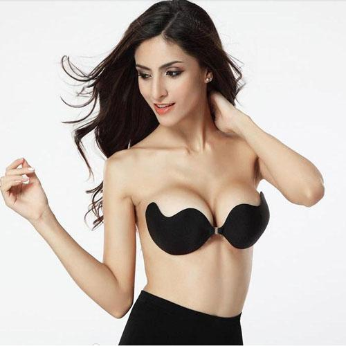 2017 Retail Packaging Invisible Bra Silicone Bust Self Adhesive ...