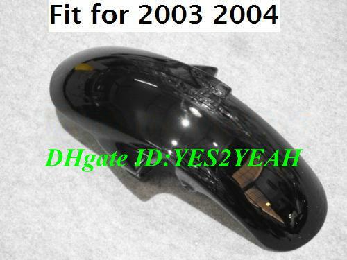 Kuiken Body Kit voor Yamaha YZFR6 2003 2004 2005 YZF R6 YZF-R6 YZF600 R6 03 04 05 Geel Wit Verkleinings Carrosserie + Geschenken YD34