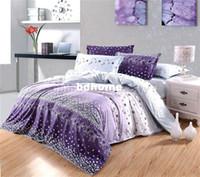 Wholesale Diamond Velvet Bedding - Free Shipping 2013 New Diamond velvet 4 pcs bedding sets Charm impression duvet cover Bedding sheet bedspread pillowcase