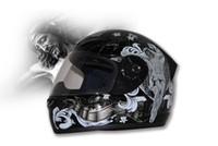 Wholesale T112 Tanked - Moto racing helmets Tanked Off Road helmet Full Face Helmet made of ABS and God-black Color TANKED T112 Motorcycle helmet Motorbike Helmet