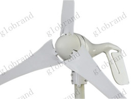 Wholesale Turbines Generators - GHJA288 600W Max Wind Turbine Generator 12   24V With Wind Controller For Wind Power System Use For House Land Marine Outdoor