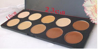Wholesale professional makeup prices - lowest price hot NEW makeup PROFESSIONAL 10 color concealer palette