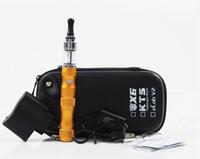 Wholesale E Cigarettes Lava Tube - DHL FREESHIPPING Vaporizer Lava Tube VV E Cigarette X6 Battery 1300mAh 2.4-3.5ml liquid refillable 3.6V 3.8V 4.2V Factory Supply rafi 30pcs