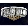 Modern Fashion K9 Crystal Ceiling Light Chandelier Hotel Lobby Decoration Lamp D680mm H300mm