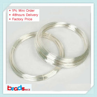 Wholesale Diy Jewelry 925 - Beadsnice ID26881 Min order is $10 (mix order) free shipping diy jewelry silver findings of top quality 925 sterling silver wire