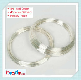 Wholesale Min Order - Beadsnice ID26881 Min order is $10 (mix order) free shipping diy jewelry silver findings of top quality 925 sterling silver wire
