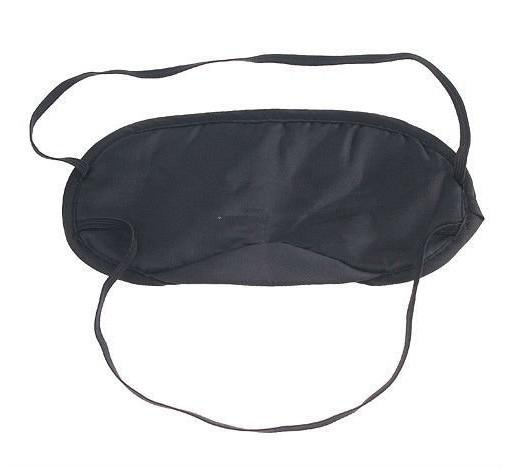 top popular Eye Mask Shade Nap Cover Blindfold Sleeping Travel Rest Big Discount 2019