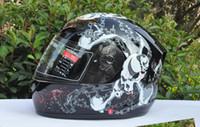 Wholesale T112 Tanked - Tanked Racing Off Road helmet Motorcross helmet Full Face Helmet made of ABS The skull chain TANKED T112 Motorcycle helmet Motorbike Helmet
