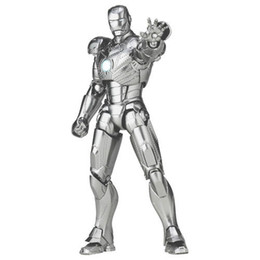 Wholesale Iron Man Doll Toy - Hot Toys Iron Man movie Mark II action figure Action Figure Toy Figure'simulation models Doll Iron Man 2 For Free Shipping