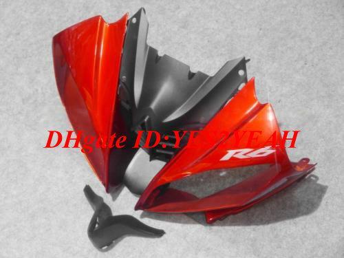 Injectie Verkrijgen Carrosserie voor Yamaha YZFR6 2009 2009 2010 YZF R6 YZF-R6 YZF600 R6 08 09 10 Backings Body Kit + Geschenken YB14