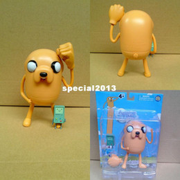 Wholesale Adventure Time Pvc - 10pcs lot Adventure Time Finn and Jake 2styles mixd 12cm pvc action figure free shipping
