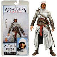 "Wholesale Altair Neca - Free shipping NECA ASSASSIN'S CREED 7"" ALTAIR White Action Figure"