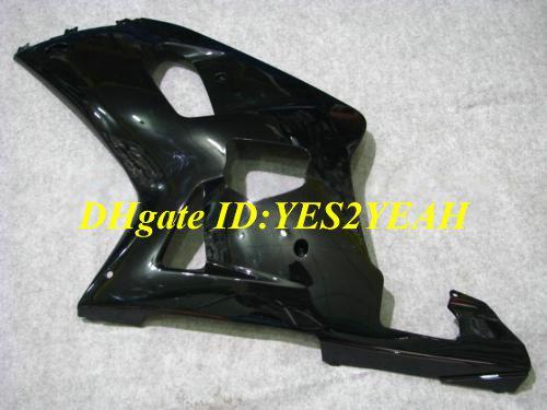Kit corpo carena moto SUZUKI GSXR600 750 01 02 03 GSXR 600 GSXR750 K1 2001 2002 2003 carenature nere Carrozzeria SX26