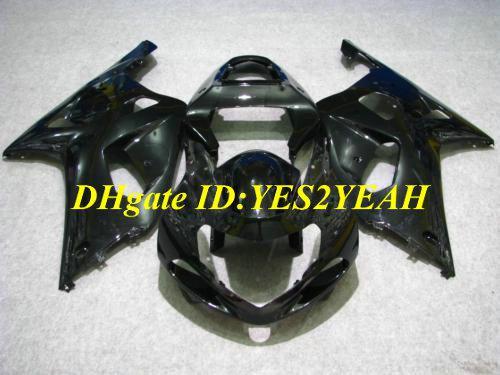 Kit de cuerpo de carenado de moto para SUZUKI GSXR600 750 01 02 03 GSXR 600 GSXR750 K1 2001 2002 2003 negro Carenados de carrocería SX26