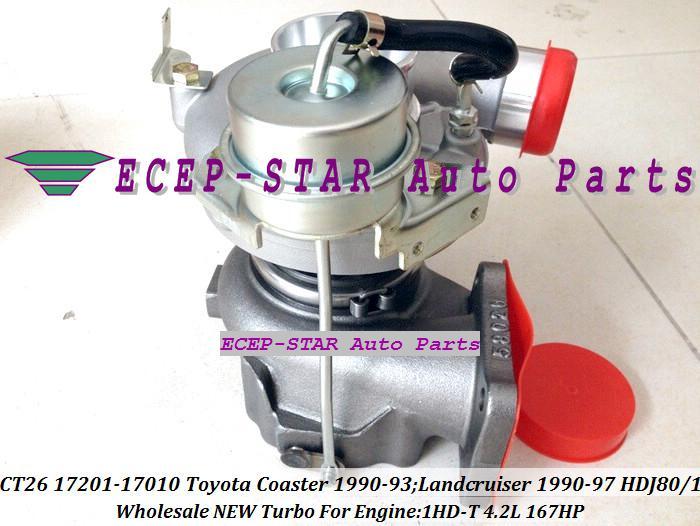 Turbo CT26 17201-17030 1720117030 17201 17030 Turbolader Für Toyota Coaster 1990-93 Land Cruiser TD 1990-97 1HD-T 1HDT 1HD-FT 1HDFT 4.2L