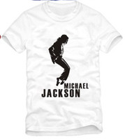 Wholesale T Shirts Halloween Men - free shipping Tshirt For 90 100 110 120 130 140 150cm for kids Michael Jackson tshirt, Man In The Mirror dance t shirt 100% cotton 6 color