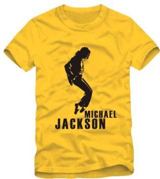 livraison gratuite Tshirt Pour 90/100/110/120/130/140 / 150cm pour les enfants t-shirt Michael Jackson, Man In The Mirror danse t-shirt 100% coton 6 couleurs