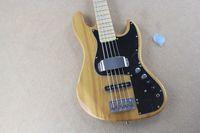 Wholesale Signature Bass - New marcus miller signature bass-String Bass Guitar wood color active amplifier circuit