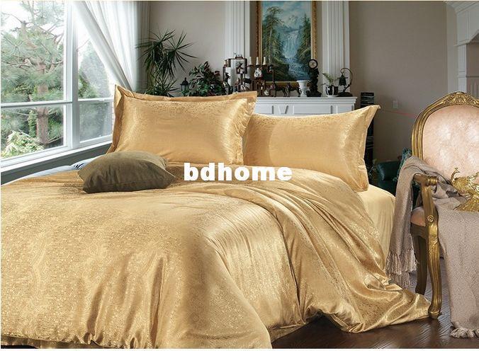 Luxury Bedding Sets King Size Orange Duvet Cover Sets
