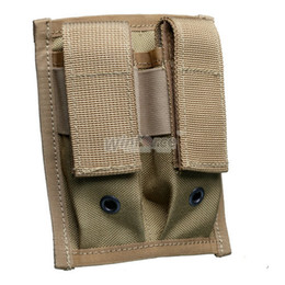 Wholesale Double Pistol Pouch - WINFORCE TACTICAL GEAR   WA-02 Pistol Double 9mm Mag Pouch  100% CORDURA  QUALITY GUARANTEED OUTDOOR AMMO POUCH