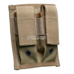 revistas de pistola Desconto ENGRENAGEM TÁTICA WINFORCE / WA-02 Pistola Dupla 9mm Bolsa Mag / 100% CORDURA / QUALIDADE GARANTIDA CAIXA DE AMOR EXTERIOR