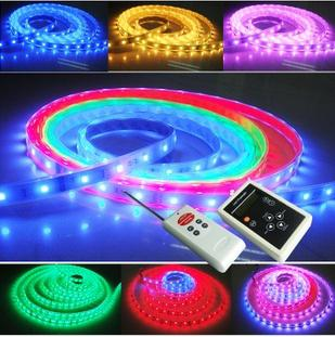 Tira mágica del LED 5050 RGB SMD Luz de tira inteligente Color del sueño 6803IC 150LED 5M Impermeable 133 Programa -NIMILED