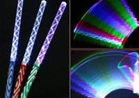 Free EMS DHL 200pcs led stick 7 couleurs changeant Stick led flash light glow stick magic wand pour Disco Party Wedding Xmas Gift