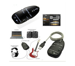 Wholesale Recording Cables - Guitar to PC USB Interface Connector link Cable for PC Mac Music Recording