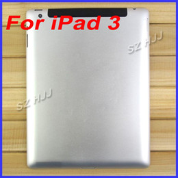 Wholesale Ipad Wifi Back Housing - Original Back Cover Housing For iPad 3 Back Battery Door Case With For Apple iPad 3 3G and Wifi Version