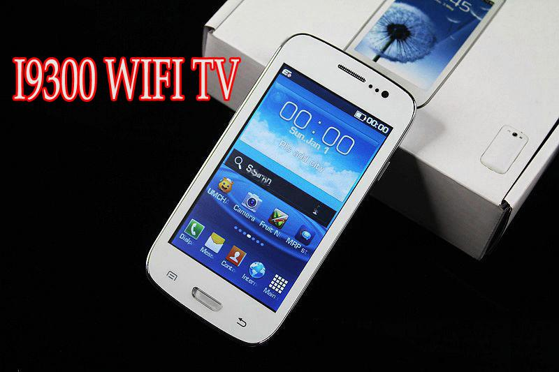 Best phone i9300 TV WiFi n9300 9300 4 0 Inch Screen Quad Band mobile a9300  Dual Unlocked highquality cell phone not is jiayu g4 mtk6589 4 7