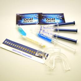 Wholesale Whitening Teeth Kit Free Shipping - 300set Teeth Whitening 35% Carbamide Gel Tooth Whitener Bleach Professional Dental KitTeeth Whitening Home Kit,Teeth Whitener free shipping