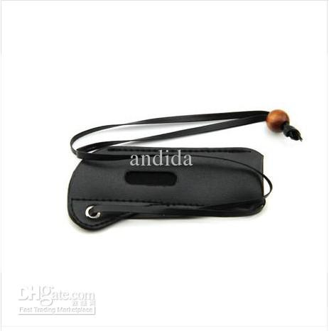 E Cigarette Accessories Leather eGo Case Cortical Neck lanyard Bag for eGo-T eGo-W eGo-F