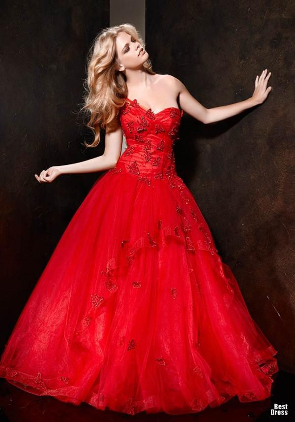 Discount 2013 new red wedding dresses a line sweetheart neckline see larger image junglespirit Choice Image