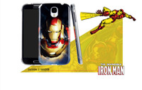 Wholesale S4 Iron Man - Retail Ultra Thin & Fit NFC Lighting Iron Man Spider Man Crystal Hard Case For Samsung Galaxy S4 SIV i9500, Free Shipping