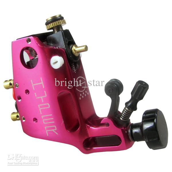 New Arrive! Stigma Hyper V3 Style Silver Rotary Tattoo Machine Gun Shader Liner For Tattoo Needle Ink Cups Tips Kits