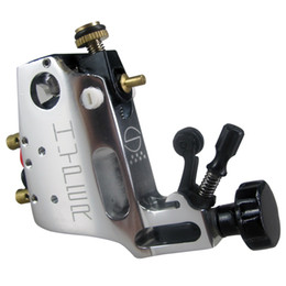 Chinese  New Arrive! Stigma Hyper V3 Style Silver Rotary Tattoo Machine Gun Shader Liner For Tattoo Needle Ink Cups Tips Kits manufacturers