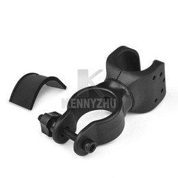Wholesale Bike Flashlight Clamp Holder - 360 Degree Rotated Cycling Grip Mount Bike Clamp Clip Bicycle Flashlight Bracket LED Flashlight Torch Holder